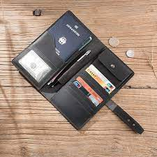 With three slots, the minimalist wallet holds between four to six cards as well as folded bills. 10 Best Passport Holder Crazy Horse Leather Open Horizontal Wallet Leather Wallet Card Holder Pen Holder