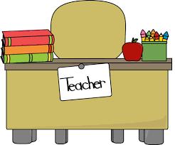 teacher desk clipart. Simple Teacher Teacher Clip Art Borders  Teacheru0027s Desk Image  Teachers Desk  With Books Pencils An  On Clipart Pinterest