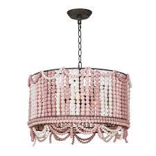 regina andrew design malibu drum pendant weathered pink