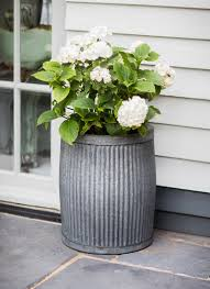 The Vence Planter Large emulates timeless design with its ridged exterior  perfect for an array of plants