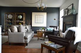 Striped Rug In Living Room Grey Walls Living Room Simple Grey Black And White Living Room