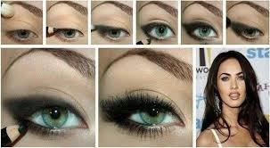 megan fox eye makeup megan fox eyeshadow tutorial that is very simple to apply enjoy it