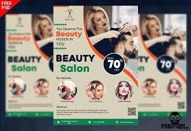 Beauty Salon Flyer Psddaddy Com