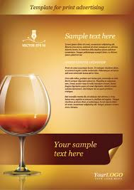 Template For Advertising Template For Print Advertising 2 Free Vector Graphic Download