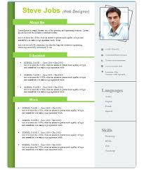 3 Free Download Resume Cv Templates For Microsoft Word Free Resume