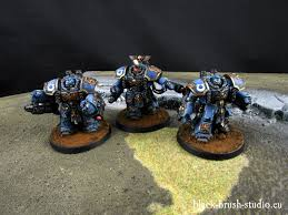 black brush studio miniature painting services space marines ultramarines