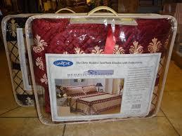 chris madden luxplush blanket size twin classic pooh blanket