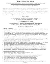 Training Resume Examples Examples Of Resumes