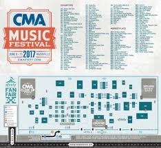 2017 Cma Fest Fan Fair X Hometown Country Music