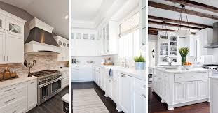 White Kitchen Cabinets Design Photos