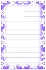 standard printable lined writing paper