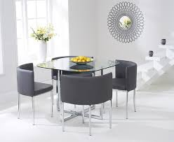 hideaway dining set uk. algarve glass stowaway dining table with grey high back stools hideaway set uk t