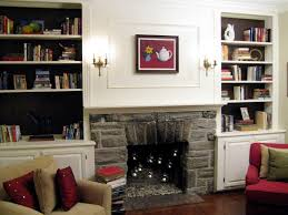 100 half day designs update fireplace and bookshelves
