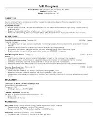 Objective In Resume Sample Adorable Resume Format Google Docs Sample Examples High School College