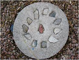 make decorative stepping stone path your garden