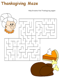 Thanksgiving Worksheet For Worksheets for all | Download and Share ...