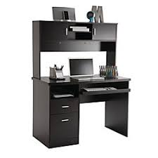 office depot desk hutch. Illustra Transitional Engineered Wood Computer Desk With Hutch 56 12 Office Depot