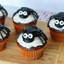 halloween spider cupcakes. Wonderful Spider On Halloween Spider Cupcakes