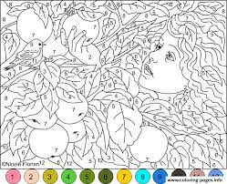 Small Picture Difficult Coloring Pages With Numbers Az Coloring Pages Printable
