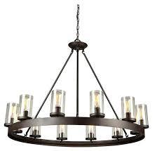 artcraft lighting chandelier park dark chocolate florence