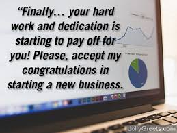 Congratulation For New Business Best Wishes On A New Business Messages