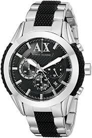 mens armani exchange chronograph watch ax1214 armani exchange mens armani exchange chronograph watch ax1214