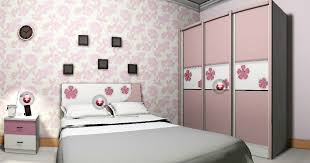 Pretty Wallpaper For Bedrooms Bedroom Pink Bedroom House Interior Design Pictures With Beautiful