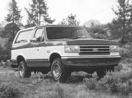 full size bronco ford bronco wikicars
