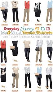 office wardrobe ideas. ann taylor business casual capsule wardrobe u2013 mix u0026 match outfits for the office everyday savvy ideas s