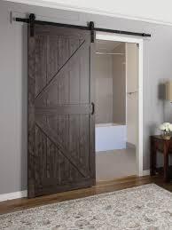 Perfect Interior Sliding Barn Door Mdf Engineered Wood 1 Panel And Simple Ideas