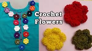 Crochet Flowers New Design Design Crochet Flowers How To Crochet Puff Flower Decor