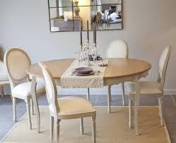Table Manger Avec Allonge 120 160 Cm 4 Chaises M Daillon