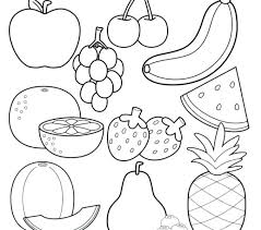 Coloring Pages Fruit Coloring Sheets Printable Apple Page S Free
