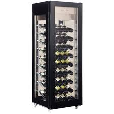 wine cooler marchia mws400 vertical wine cooler glass door display
