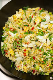 Crab Fried Rice - Recipes by Nora