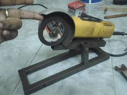 picture of angle grinder stand for safe use