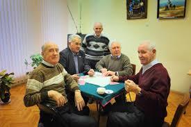 Españoles en el Centro Español de Moscú