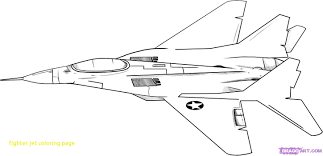 fighter jet coloring page free pages for children inside