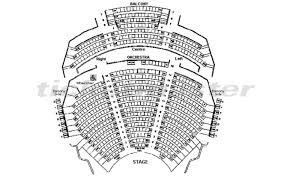 Orpheum Theatre Vancouver Seating Chart With Seat Numbers