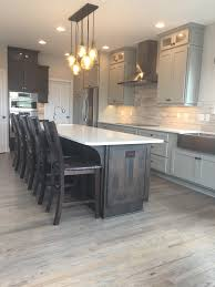 Minwax Charcoal Grey Kitchen Remodel Cabinets Custom Cupboards In Mocha And Boulder