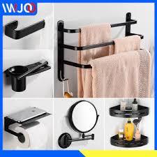 Выгодная цена на bathroom shelf towel rack with hooks ...