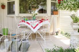 shabby chic patio furniture. Cheap Patio Table Set Shabby Chic Style Porch Also Bay Window Column Furniture Seating