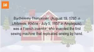 「a model of Thimonnier machine is exhibited at the London Science Museum.」の画像検索結果