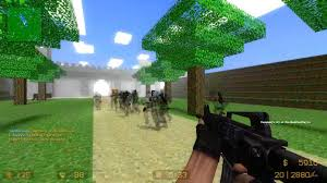 counter strike source  zombie escape mod multiplayer gameplay