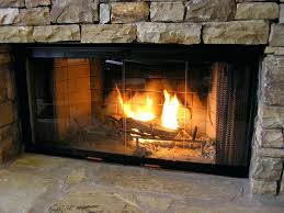 fireplace door insulation glass for doors gas