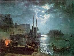 shchedrin moonlit night in naples 1828