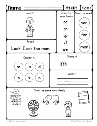 They will enhance their reading and writing skills while growing their vocabulary with these free word family worksheets. Free Word Families Worksheets Printables Primarylearning Org