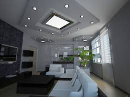 image of modern recessed light fixtures design
