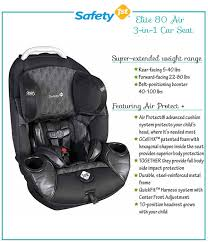 safety 1st elite 80 air 3 in 1 car seat