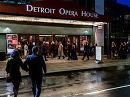 Seating Chart Michigan Opera Theatre